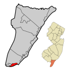 400px-Cape_May_County_New_Jersey_Incorporated_and_Unincorporated_areas_Cape_May_Highlighted.svg